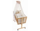 Easy Baby Wiege Komplettset natur, Honey bear 181-79