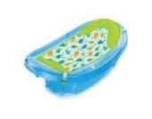 Summer Infant 09156 Sparkle And Splash mitwachsende Badewanne für Neugeborene bis Kleinkind, blau