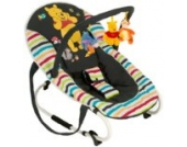 Hauck Bungee Deluxe Tidy Time Babyliege/-wippe bunt, Disneymotiv, Mobile