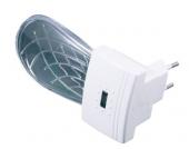 LED Nachtlicht Muschel, mit Dämmerungsautomatik