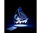 Aloka Nachtlicht Pirat mit Fernbedienung
