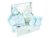 BamBam Blue Baby Gift Set With Socks, Duck, Tuttle & Teether