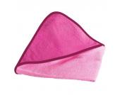 Wörner Kapuzen-Badetuch 80x80 cm rosa