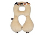 Rotho Babydesign 206 - Travel Friends Nackenstütze 4-8 Jahre, Hund