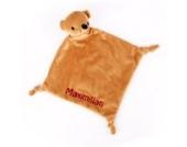 Striefchen Bären Schnuffeltuch mit gratis Namen bestickt mit Geschenkverpackung