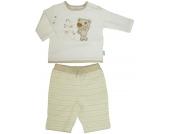 Liliput Langarmshirt mit Hose Teddy Gr. 68 (Creme-Beige) [Babykleidung]
