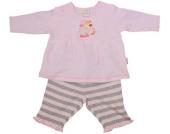 Liliput Langarmshirt mit Leggings Schaf Gr. 56 (Rosa-Grau) [Babykleidung]