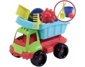 Ecoiffier Bunter LKW mit Sandspielzeug [Kinderspielzeug]