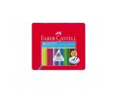 COLOUR GRIP Buntstifte wasservermalbar, 24 Farben, Metalletui