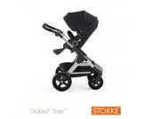 STOKKE ® Trailz™ Gestell und Sitz mit Geländerädern Black - schwarz