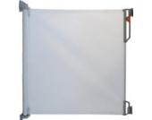 Gaterol Active Lite Ausziehbares Treppenschutzgitter und Türschutzgitter Rollo bis 140 cm, Weiß