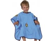 Badeponcho, Bikerbär, hellblau, 60 x 75 cm Jungen Kleinkinder