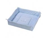Easy Baby Laufstalleinlage Stars & Friends blue - blau - Gr.100x100 cm