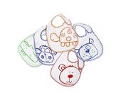 Babies R Us - Lätzchen 5er Pack lustige Tiere