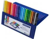 Staedtler Buntstifte ergosoft, 24 Farben in Aufstellbox