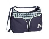 LÄSSIG Wickeltasche Basic Shoulder Bag Daisy navy - blau