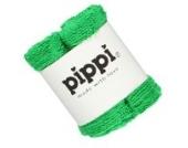 Pippi 4er Set Frottee-Waschlappen Waschtücher in grün 27x27cm