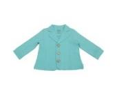 Bio - Blazer, Fleece Jacke, Jungen, verschiedene Farben und Größen (92, Türkis)