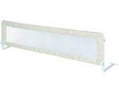 roba Bettschutzgitter Klipp-Klapp, extra großes klappbares Bettgitter für Babys & Kinder, Rausfallschutz 150 cm, beige