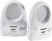 Digitales Babyphone Babyruf MBF 1313 mit Nachtlicht und Einschlaf-Melodien 300 Meter Reichweite
