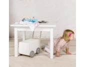 Isle of dogs Tisch Kindertisch Weiß oder Bemalt