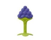 Innobaby TE-301 Teethin' Smart Weintraube-Design Ez Grip Beißring, mehrfarbig