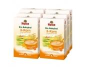 Holle Bio Babybrei 3-Korn 6 x 250 g