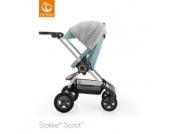STOKKE ® Kinderwagen Scoot™ V2 Aqua Blue - blau