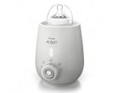Philips Avent Elektrischer Flaschenwärmer SCF356/00 ab der Geburt - weiß