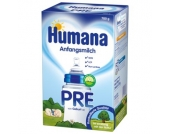 Humana Anfangsmilch PRE mit LCP & GOS 700 g - Gr.ab 0 Monate