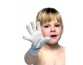 TEXAMED Silvercare Handschuhe ohne Fingerspitzen, antibakteriell