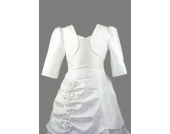 SWEET MOMENTS Bolero WEISS oder IVORY 2-16 Jahre