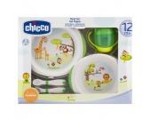 CHICCO Geschenkset Mahlzeit 12m+