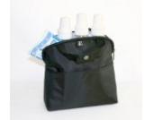 JLChildress JLC-1905 MAXICOOL Kühltasche schwarz mit Kühlbeutel