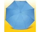 Heitmann Sonnenschirm, Regenschirm, UV 50+, hellblau