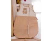 Luxus Erstlingsschlafsack von Memi Bear, 70cm