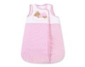 Babyschlafsack von Sleeping Bear in 5 Farben erhältlich, 70 cm, Farbe:Rosa