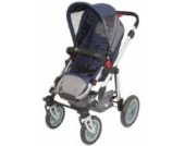 Sportwagen A035K von UNITED-KIDS, Design Darkblue-Darkgrey