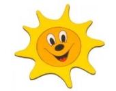 Möbelknopf 'fröhliche Sonne' von HOBEA-Germany