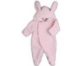 [Rabbit] foot fleece with hood coverall [rabbit] baby costume fancy dress costume long sleeve 60cm (japan import)