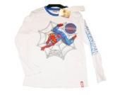 Spiderman Langarmshirt für 4,6,8,10 Jahre