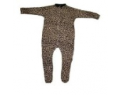 BabywearUK Schlafanzug Leopardenprint -12-18 Monate- British Made