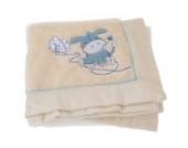 Baby Decke mit Tier Motiv (77 x 98 cm) (Blau)
