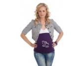 mama band Bauchband Bauchbänder Bauchbinde M (Gr.38-42) - Unser kleines Wunder - Farbe lila