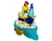 Windeltorte Badespaß | Das perfekte Geschenk zur Geburt & Taufe