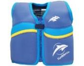 Kinder-Schwimmweste aus Neopren, Blau/Gelb Nautical/Yellow, Konfidence Jacket. Größe 6-7 Jahre: 21-26 kg, Brustumfang ca. 66 cm
