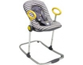 Babywippe up&down Grau-Gelb