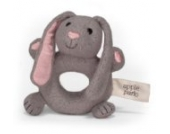 Apple Park Picnic Pal Organic 5 Soft Teething Toy, Bunny (japan import)