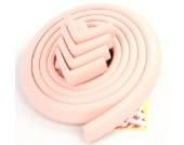 jntworld 4m Länge Tischkante Kissen Beschützer +4 Ecke (5,76 mm Dicke) soft ungiftig und umweltfreundlich (rosa)