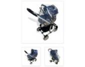 Sunnybaby 10078 Regenverdeck Universal 4 in 1 für Babyschale, Kinderwagen, Sportwagen und Buggy - Travel